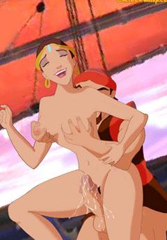 Sinbad the Sailor in hardcore fucking toon porn
